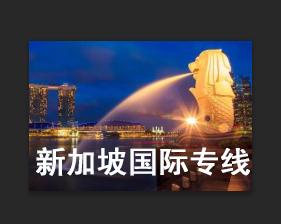 新加坡专线促销